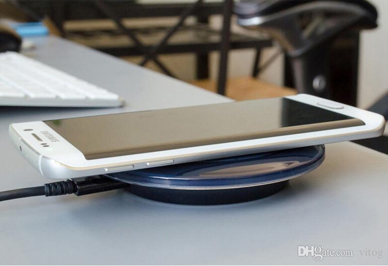 Adaptateur chargeur sans fil QI Pad chargeur pour IP 8 X XS XR Galaxy S6 S7 EDGE S8 S9 S10 plus Note 4 5 récepteur de chargeur sans fil