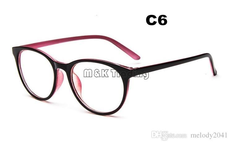 63e91bb23e6 Glasses Shop Fashion Big Vintage Eyeglasses Frame Clear Lenses Eyewear  Unisex Design Decorative Eyeglasses Lenses Removed Discount Designer  Eyeglass Frames ...