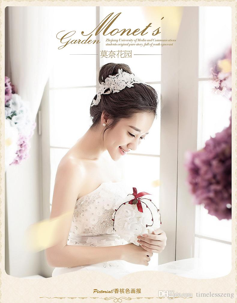 유럽의 요정 아름다움과 즐거운 가방 크리 에이 티브 원사 가방 웨딩 사탕 상자 웨딩 사탕 상자 창의력과 즐거운 결혼식