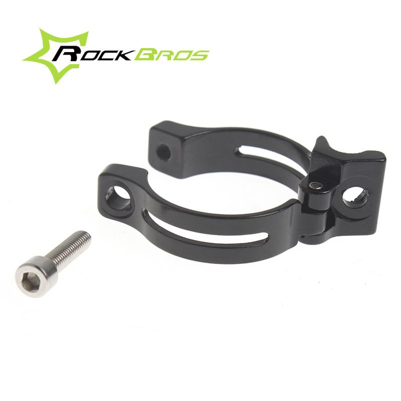 RockBros Front Derailleur Braze-on Adapter Clamp 31.8mm Silver