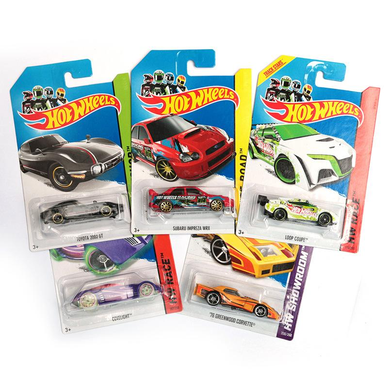 Dhl Free Hot Wheels Classic Cars Toys Boys Race Cars Scale