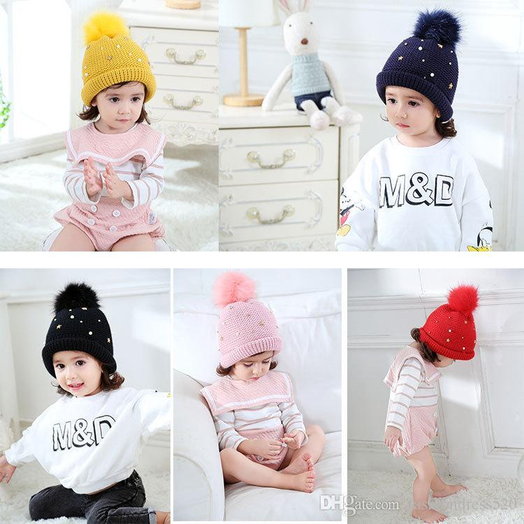 456db31e259 2019 Baby Boy Girl Kids Knit Crochet Hat Cap Crochet Beret Beanie Rhombus  Cute Princess Handmade Hat Knitting Cap High Quality Free DHL From  Fashiondress520 ...