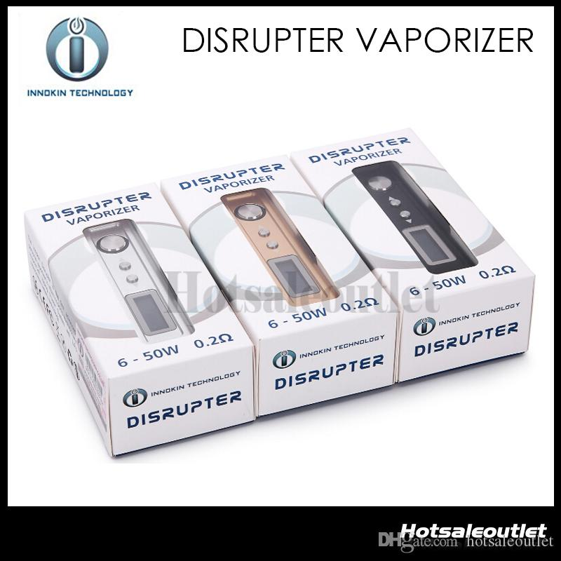 Origine Innokin Disrupter Vaporisateur Disrupter Corps écran OLED variable Puissance 6-50W Pour Innokincell Batterie Power System Vaping