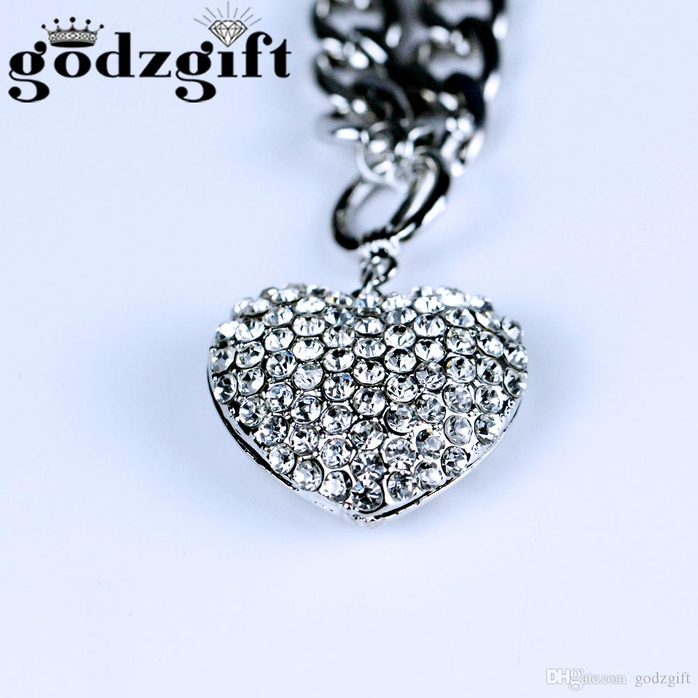 Wholesale godzgift real natural love heart glass ball necklace wholesale godzgift real natural love heart glass ball necklace rhinestone pendant necklace make a wish glass bead fashion jewelry jn0004 charm necklace aloadofball