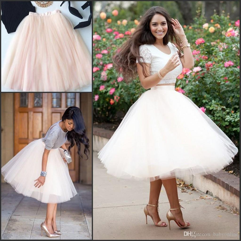 Full Tutu Tulle Skirts 2017 Short Prom Party Dresses Ball Gowns 5 ...