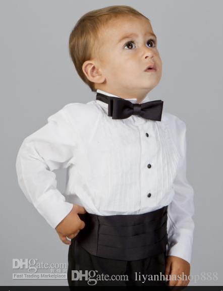 2016 мальчика формальная одежда мода новые мальчики черный смокинг ужин костюм мальчик свадебные костюмы мальчик смокингкуртка+брюки+галстук+пояс