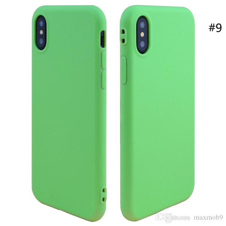 New cell phone case for iphone XS max XR X 6S 7 8 plus TPU silicone soft mobile phone case slim ultra thin high quality cheap case cover