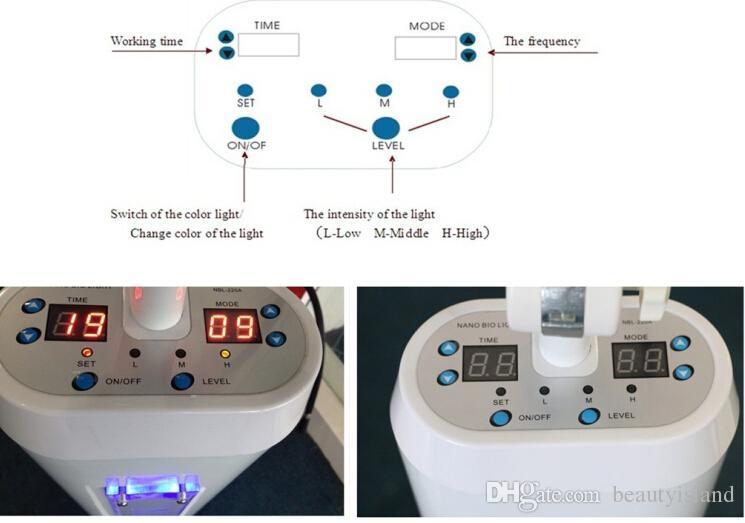 مصباح طبي المهنية PDT أدى ضوء العلاج الصمام PDT البيولوجية ضوء العلاج بقيادة آلة الوجه مع سبعة ألوان للعناية بالبشرة