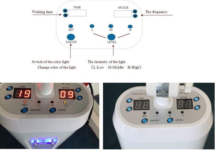 강력한 Piranha 램프 PDT 라이트 테라피 LED 기계 주름 및 여드름 제거 7 컬러 광자 LED 피부 회춘
