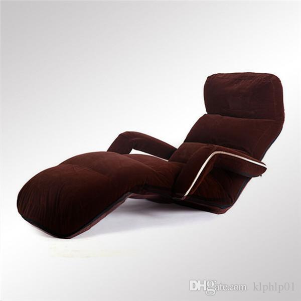Mobília da sala de visitas da poltrona da cadeira da sala de estar do sofá de dobramento confortável do assoalho Mobília da sala de estar da poltrona da cadeira do sofá ajustável de dobramento do assoalho confortável