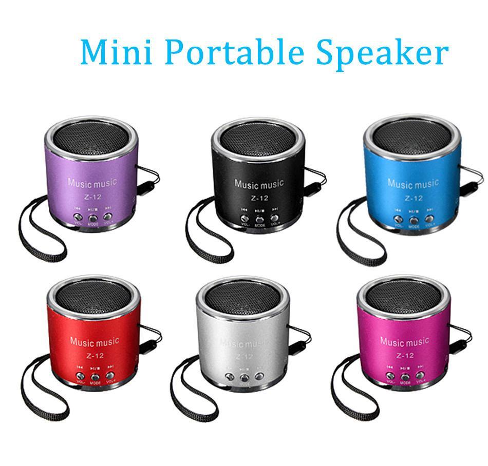 Z12 Cylinder Portable Mini Speaker Amplifier Fm Sound