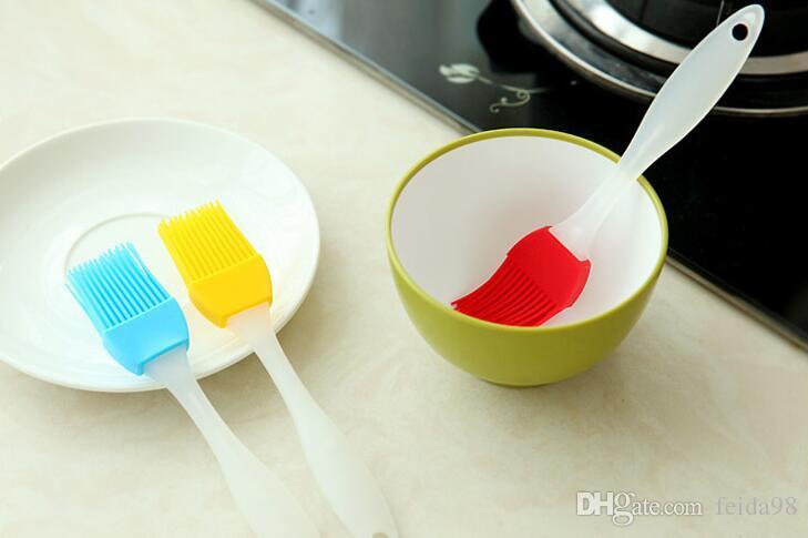 NEUE Silikon Butter Pinsel BBQ Öl Kochen Gebäck Grill Essen Brot Backpinsel Backformen Küche Esszimmer Werkzeug
