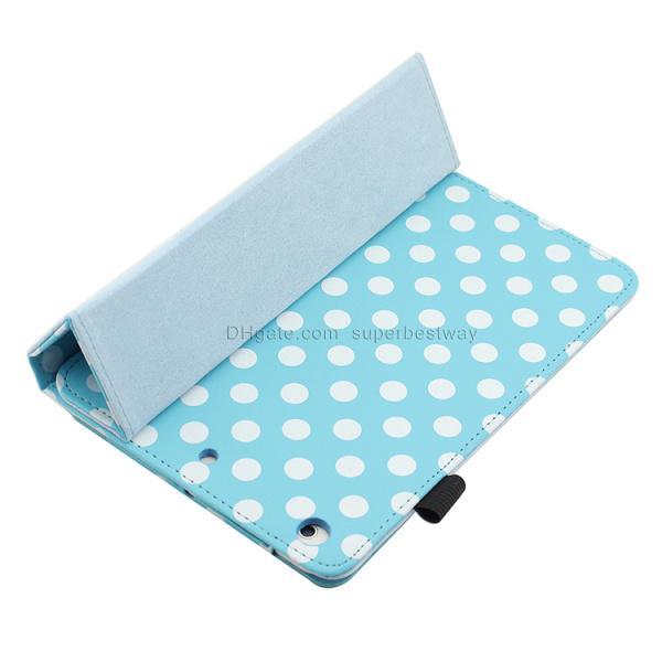 Smart Cover pour Ipad 2 3 4 5 ipad air ipad Mini rétine Magnetic Case 9,7 pouces Tablet Fold Pochette en cuir Wallet Case Cover dhl PCC048