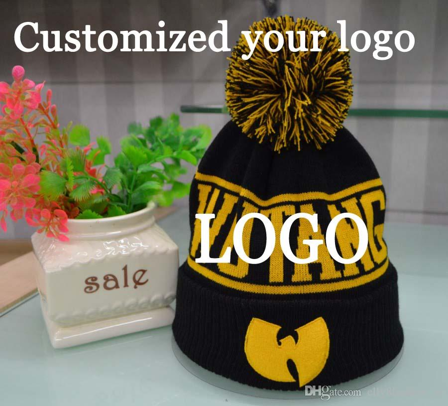 f636a07297a Adult Winter Beanies Factory Customized Skullies Hats Knitted Dobby Your  Design Beanie Winter Skull Caps Warm Hip Hop Hats With Ball Custom Beanies  Crochet ...