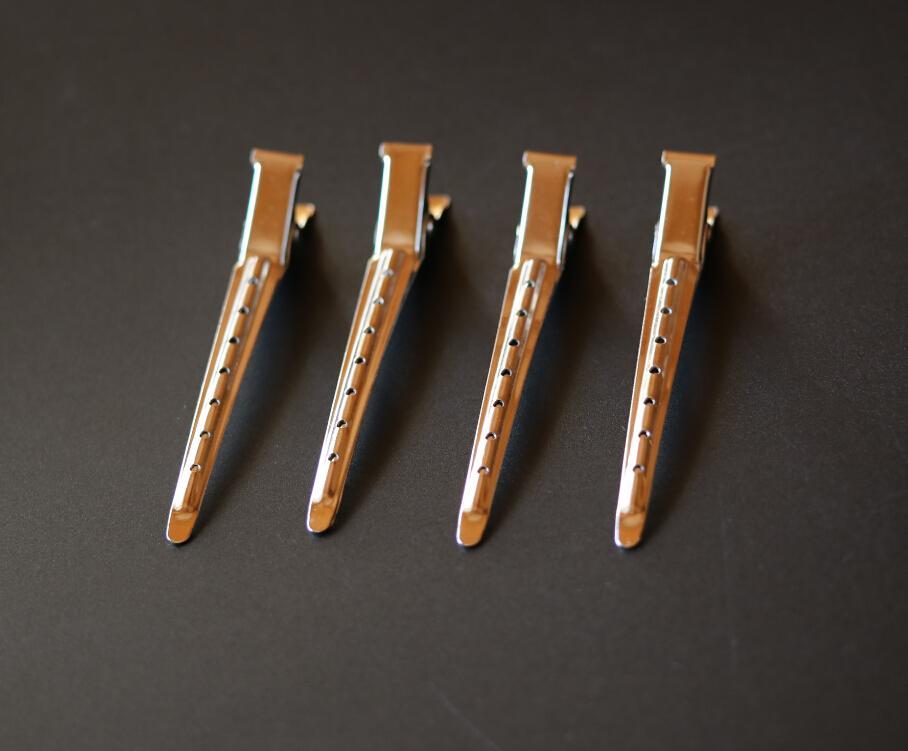 90 piezas por lote clips de pelo de metal para el salón de peluquería clips de metal para peluquería