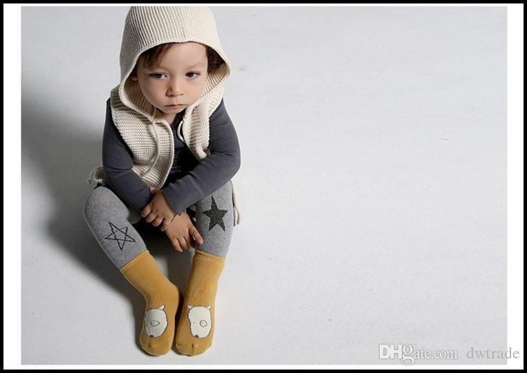 Prettybaby أطفال سميكة تيري الشتاء الجوارب الطفل الحيوان الأرنب الكلاب الثعالب نمط الأطفال لطيف الجوارب القطنية جوارب Pt0038 #