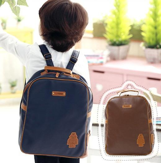 Cool! Cartoon Robot School Backpack Girls Boys Child Backpack Kid ... e632c0553f