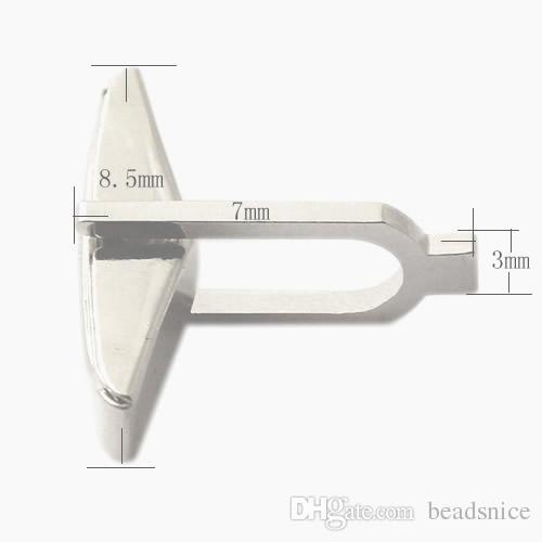 Beadsnice запонки спины Оптовая запонки частей 925 твердого серебра запонки выводы для мужчин ювелирные изделия ручной работы материал ID 27527