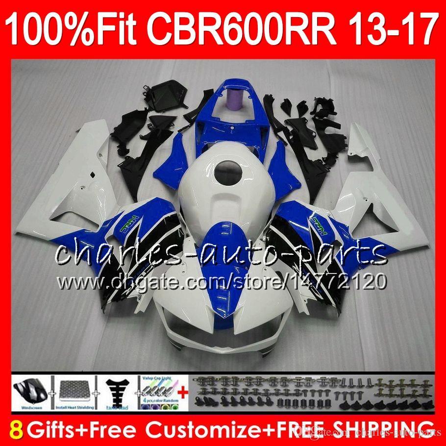 Compre Injeção Azul Branco Para Honda Cbr600 Rr Cbr 600rr F5 13 17