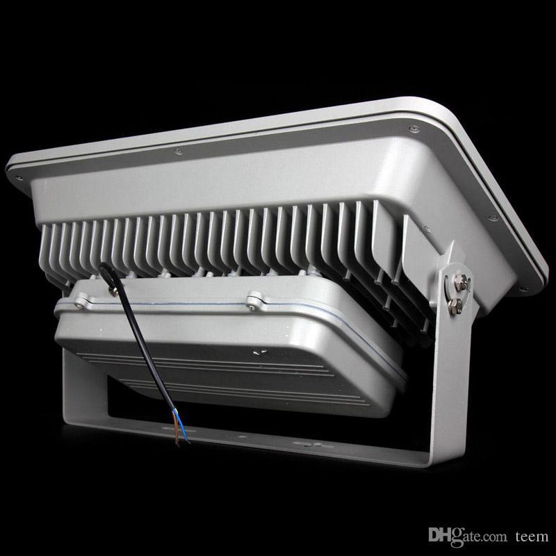 CE UL + IP66 COB 400 W Levou Holofotes de Alta Potência luz de inundação Ao Ar Livre Levou Posto de Gasolina Iluminação À Prova D 'Água Levou Luzes Do Dossel AC 85-265V 444