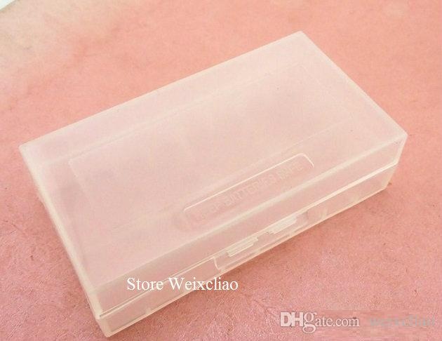 18650 16340 cr123 14500 17670 بطارية ليثيوم مربع صندوق تخزين مقاوم للرطوبة 1 وحدة محفظة  شحن مجاني