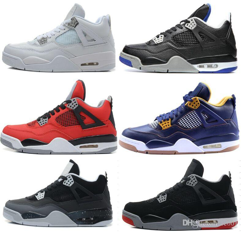Drop Shipping Wholesale Casual Shoes Men Retro 4 Dan IV High Quality Cheap Hot Sale Outdoor Casual Shoes Size 41-47 cheap sale discounts with credit card for sale A7Ok8YzQmR