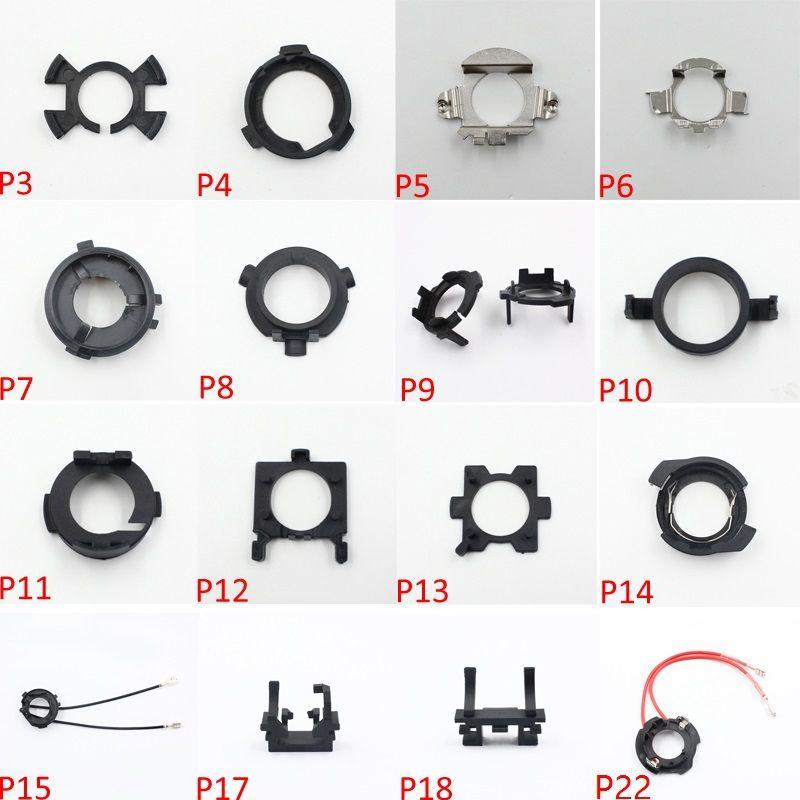 LED Scheinwerfer H7 Adapter Lampenfassung Buchse H7 Sockel für KIA K3 Sportage Scheinwerfer H7 LED Adapter für Hyundai Veloster Santa Fe für Mitsubishi