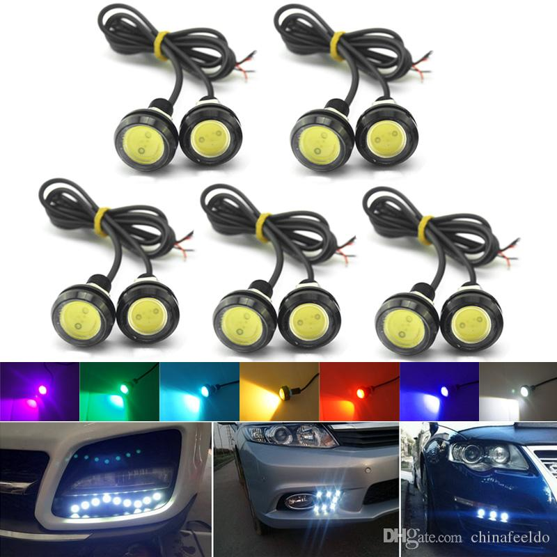 Rear Fog 1x Universal 18W Osram LED Lighting Bar For DRL Driving Light Backup