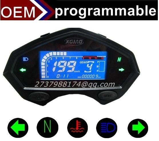 2019 Digital Speedometer Off Road Speedometer Odometer