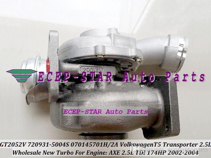 Volkswagen vw t5トランスポーター2.5L TDI 2002-04 AX 174HP用GT2052V 720931-5004S 720931-000931-5000931