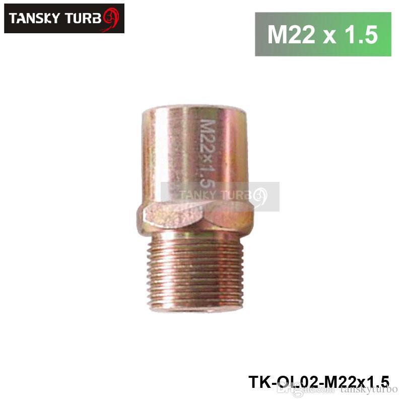 Specifiche dado montaggio attacco by-pass: M18x1,5 / M20x1,5 / 22x1,5 / 3 / 4-16 FILTRO OLIO ADATTATORE A PIASTRA DI SANDWICH TK-OL02-M20 x 1.5