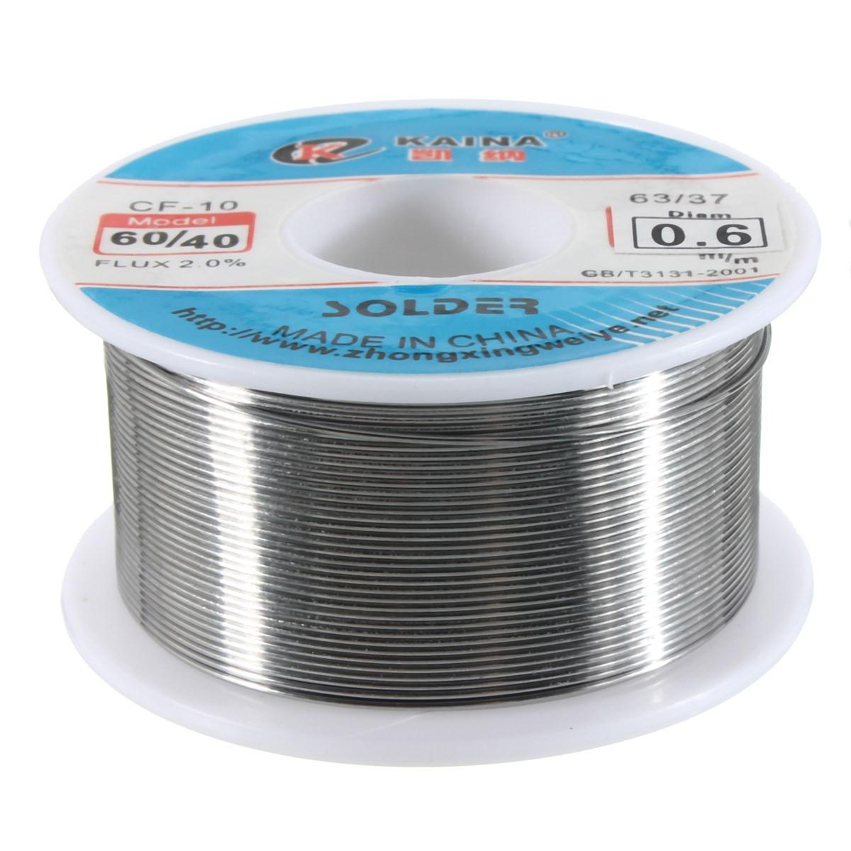 2018 Excellent Quality 0.6mm 60/40 Tin Lead Roll Solder Wire Rosin ...