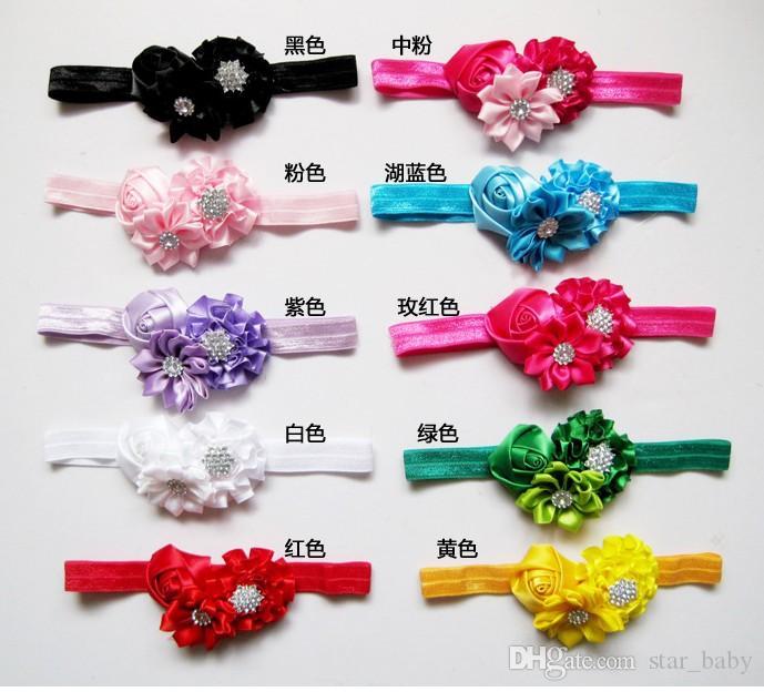 2016 Baby Mädchen Kinder Haarbänder Prinzessin Spitze Perle Strass Perle Floral Perlen Blumen Kind Kinder Haarschmuck Stirnbänder D6476
