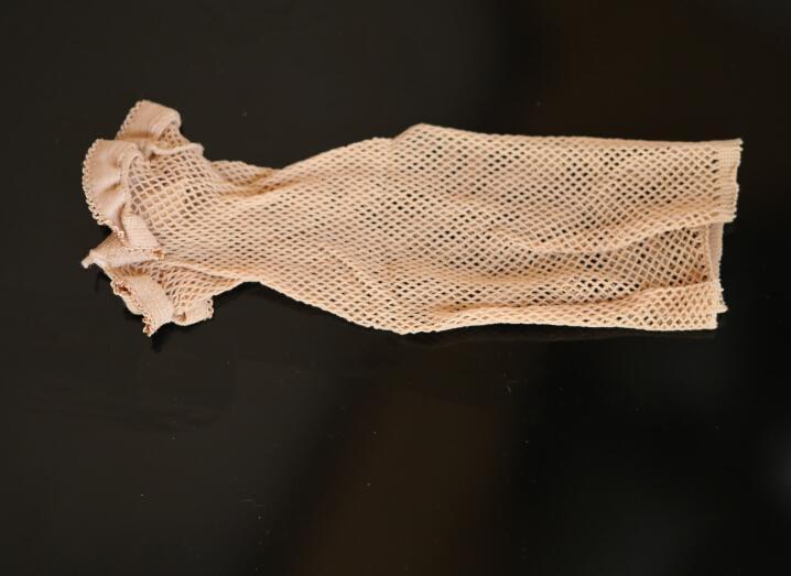 50 قطعة sbeige اللون جديد fishnet لمة كاب لمط مطاطا الشعر صافي سنود لمة كاب / لمة كاب / الشعر الصافي