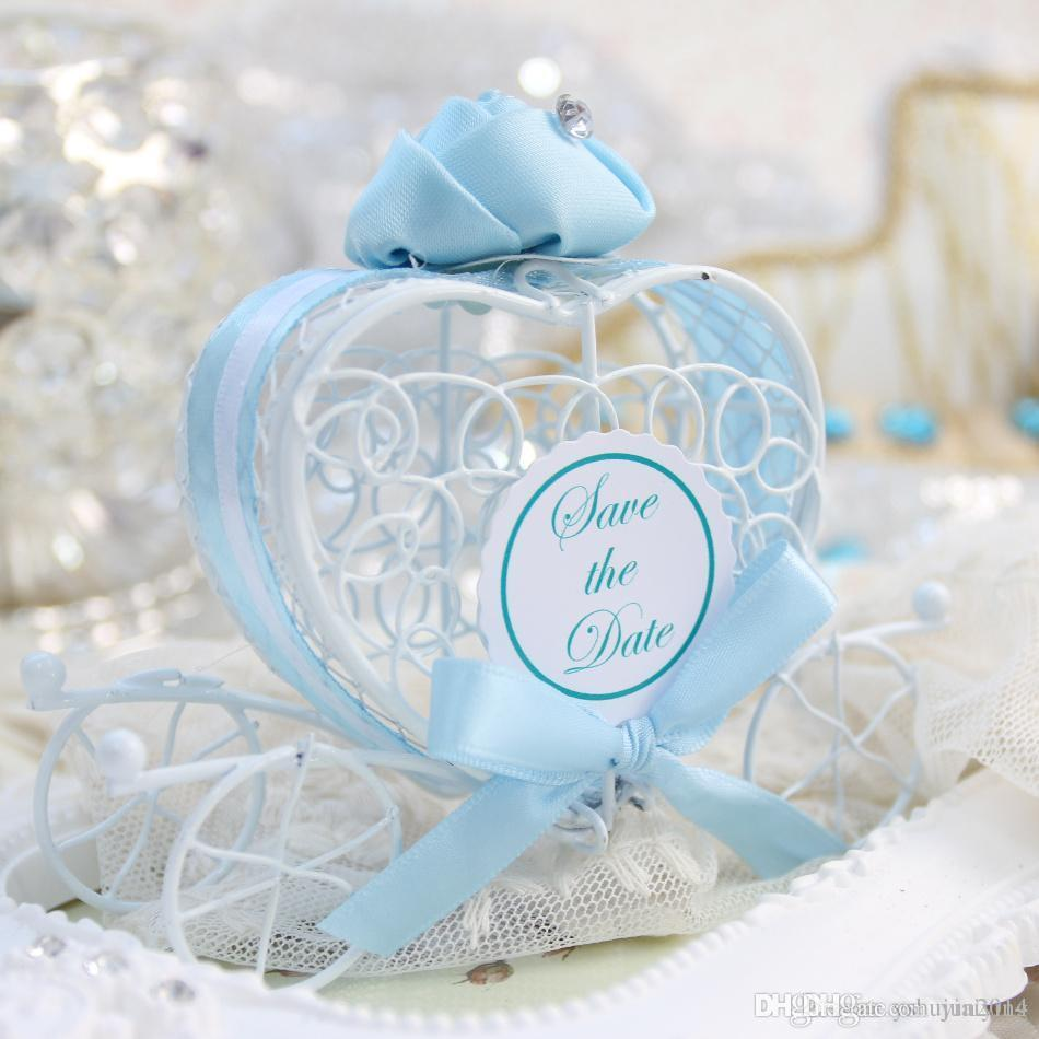 Favor Holders Carriage Wedding Favor Box For Candies New Marriage