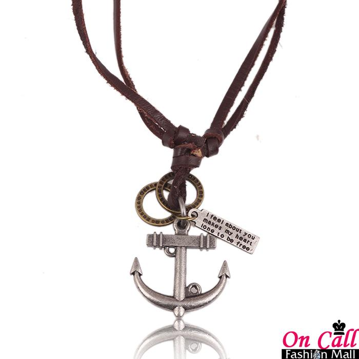 Wholesale fg1509 anchors necklace men jewelry necklace gold silver wholesale fg1509 anchors necklace men jewelry necklace gold silver for mens chains hip hop accessories leather necklace long fashion 2015 women silver aloadofball Gallery