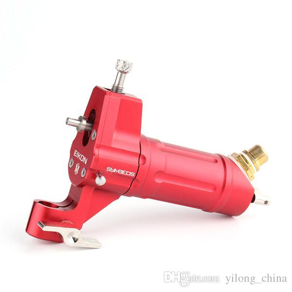 Livraison gratuite machine à tatouer rotative / couleur rouge EIKON mitrailleuses shader et liner tatouage pour BodyArt