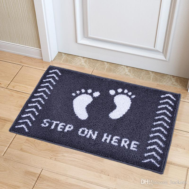 Non-slip Bathroom Rug Shag Shower Mat Washable Bath Mats with Water Absorbent Soft Microfibers 19*31 inch
