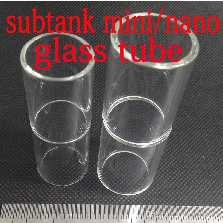 Geninue Kanger Subtank Replacement Pyrex Glass for Kanger Subtank Atomizer Subtank Mini Nano Plus Glass Tube Replacement
