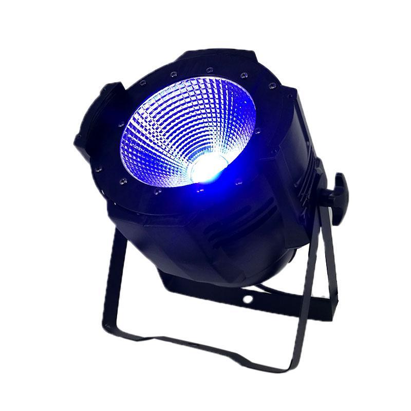 4 pezzi / lotto LED Par C0B 100W RGBW 4IN1 Illuminazione LED Par Can spotlight DJ light Dmx controll decorazioni natalizie Professionale Club DJ