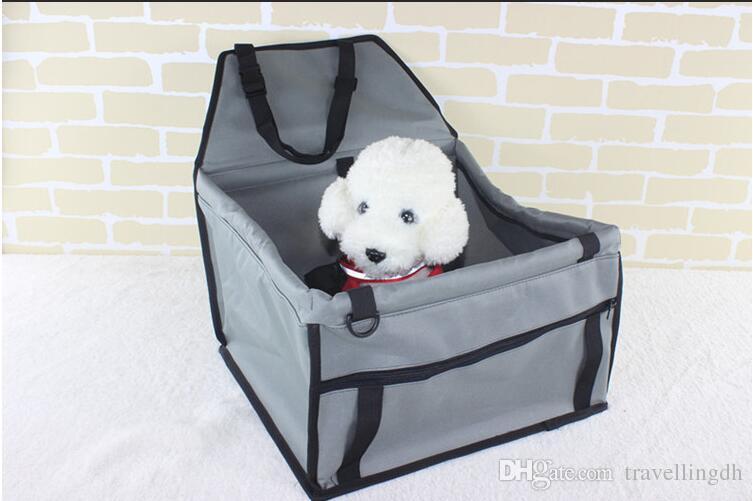 Pet Dog Carrier Car Seat Pad Safe Carry House Cat Puppy Bag Car ...