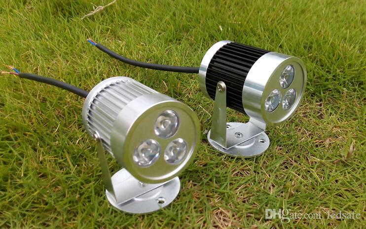 الجدار ضوء 3W LED الأضواء لمبة AC 110V 220V 3 وات للحمام داخلي بقعة الأنوار مصابيح الدافئة الأبيض الطبيعي الأبيض بارد الأبيض 3X1W CE روش