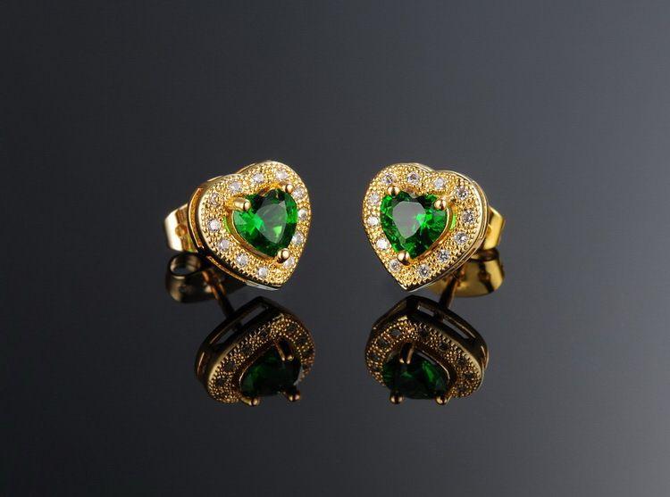 美しく設定されたオージェのジルコンのネックレス+イヤリングスーツWholesale kx621花嫁の美しい贈り物