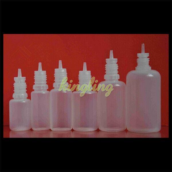 Мягкий стиль иглы бутылки 5 мл 10 мл 15 мл 20 мл 30 мл пластиковые бутылки капельницы ребенка доказательство крышки капельницы бутылки пустой E жидкость бутылка масла