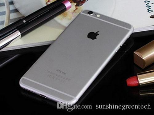 Remis à neuf iPhone 6 Plus véritable Apple iPhone Téléphones cellulaires 16G 64G IOS Rose or 5.5