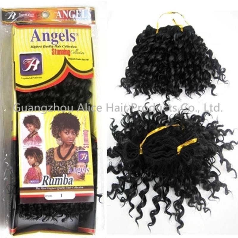 Hot synthetic hair kinky curly foreign trade supply black little hot synthetic hair kinky curly foreign trade supply black little black curly hair weave pmusecretfo Choice Image
