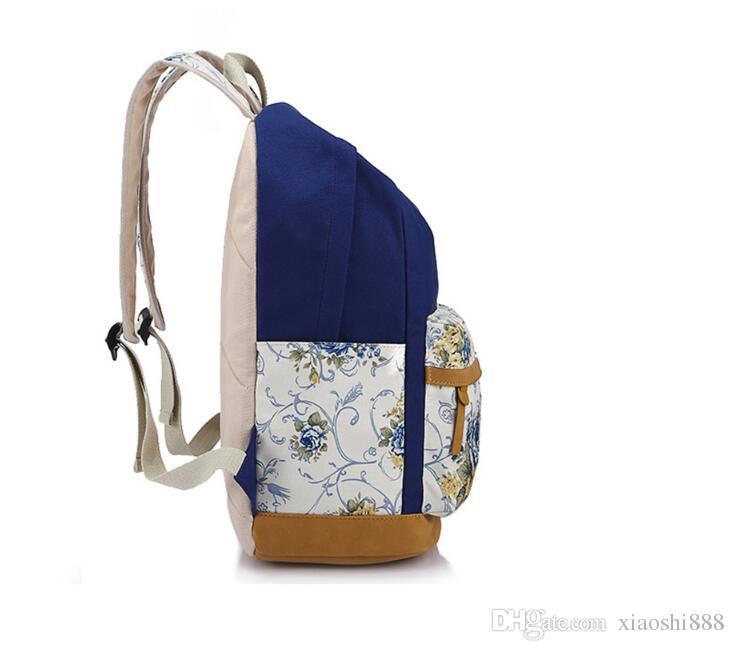 Ethnic Women School Backpack for School Teenagers Girls Vintage Stylish School Bag Ladies Backpack Female Back Pack High Quality