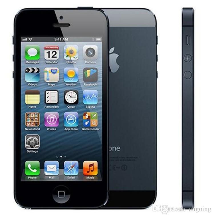 Refurbished Original Apple iPhone 5 Unlocked Mobile Phone iOS 8.0 Dual core 1G RAM 32GB ROM 4.0 inch 8MP