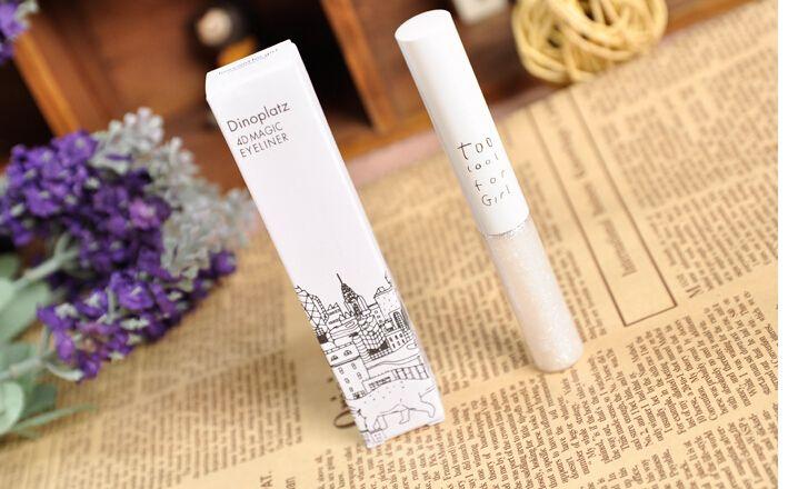 Der wasserdichte Eyeliner-Stift der Korea-Eulendinosaurierquadrat-Farbe blüht nicht weichen Kopf 1010, der für Schulmix zu cool ist, der Großhandelsfreies Schiff bestellt