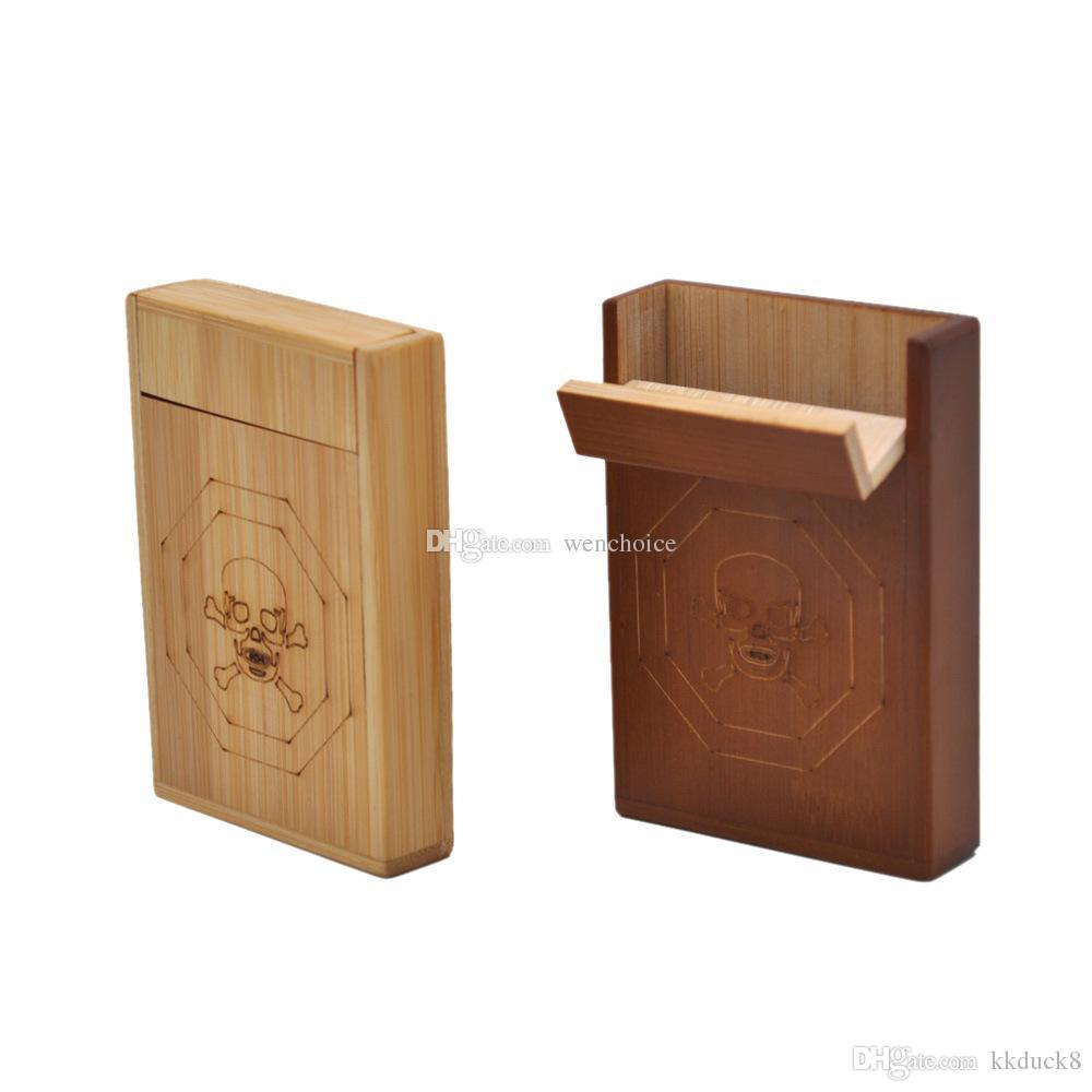 Kkduck Wood Cigar Box Wooden Cigarette Case Storage Natural Color High Grade Quality 956518mm Hot Selling